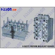 8-Cavity 40g 28mm Pco Pet Preform Injection Mould