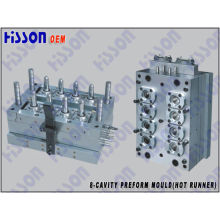 8-Cavity 40g 28mm Pco Pet Preform Injection Mould