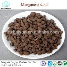 Fabrik mangan erz preis 2-4mm 35% ferro silico mangansand