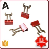 19mm Promotional special shape binder clips different kinds paper clips metal binder clips