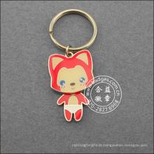 Corrente chave do Fox pequeno, anel chave dos desenhos animados (GZHY-KA-041)
