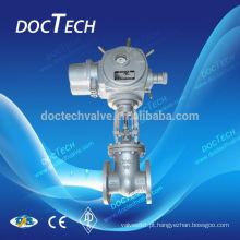Válvula de porta de atuador elétrico