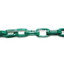 Art- und Weisequalitäts-Metallaluminiumdoppeltes ovales grünes Kabel-Kette