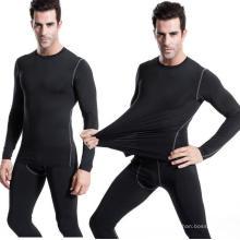 Männer Enge Hohe Elastische Trainings T-Shirt Fitness-Workouts