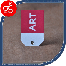 Profession Custom Special Artpaper Tag/Hang Tag with Eyelet