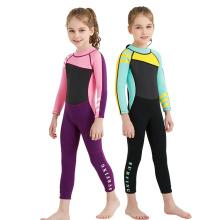 Seaside sun protection warm one-piece swimsuit