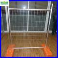 Venda quente Galvanizado PVC Revestido Cerca Temporária