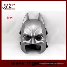 Máscara de Batman táctico Halloween Máscara Cosplay Máscara para Wargame