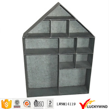 Vindima, metal, penduradas, casa, forma, prateleira