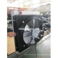 Trocador de calor de óleo de fluxo de óleo grande para refrigeração de óleo hidráulico