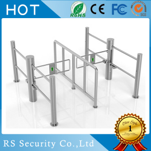 Turnstile Security System Supermarket Swinging Doors