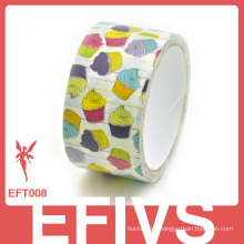 2014 hot sale!! Custom icecream printed cloth duct tape