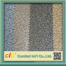 Fashion new design colorful printing and assorted vacuum embossed artificial pvc leather for decorations and hangbags