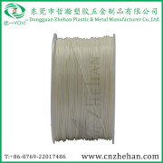 Popular White Color ABS Filament with White Plastic Spool