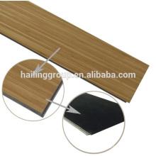 grain waterproof piso pvc wooden click 5mm commercial LVT vinyl uniclick floor tile