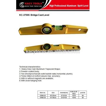 Scaffolder boat spirit level die-cast spirit level 37005