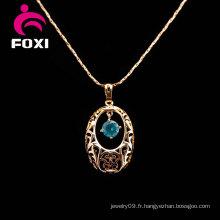 Gros 18k pendentif en or bijoux pour les filles