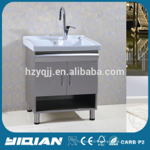 Morden Laundry Cabinet commercial Vanité de salle de bain en acier inoxydable