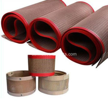 Anti-Hot Permeabilität PTFE Fiber Glass Mesh Belt