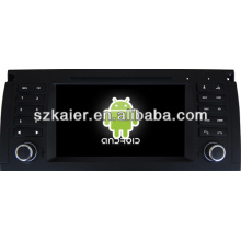 Android System car dvd player for BMW E39 with GPS,Bluetooth,3G,ipod,Games,Dual Zone,Steering Wheel Control