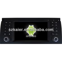 Система андроида автомобиля DVD-плеер для BMW E39 с GPS,есть Bluetooth,3G и iPod,игры,двойной зоны,управления рулевого колеса