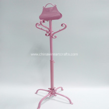 Metal Pink Bag Sharp Children Coat Hanger