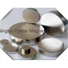 Цилиндр неодимового постоянного магнита с цинковым покрытием