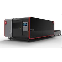 Máquina de corte a laser de fibra fechada de alta potência