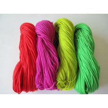 Linterna Chunky Knitting Yarn para tela