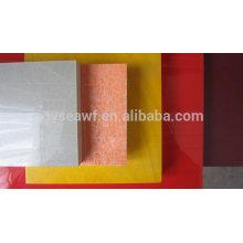 1220 * 2400mm revestimiento de melamina tabla MDF