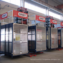 SC200 single cage elevator construction price with CE certificate