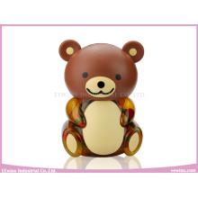 Chocalhos de bebê em brinquedos de plástico de urso para bebê (8PCS)