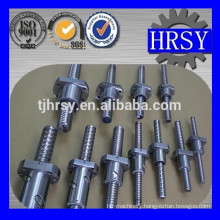High precision 25mm ball lead screw with flange nut for CNC machine