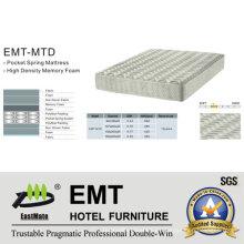 Colchón del dormitorio del hotel de la alta calidad (EMT-MTD)