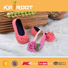 Fashion ballet shoe foldable flat ballet shoes women