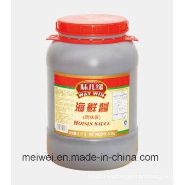 Alta calidad 6,5 kg Hoisin salsa en tambor de plástico