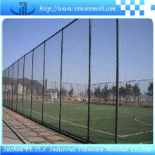 PVC-überzogene fechtende Sperre benutzt im Sportplatz