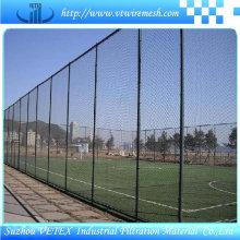 Barrière d'escrime enduite par PVC utilisée dans le champ sportif