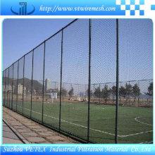Barreira de esgrima revestida de PVC usada no campo desportivo