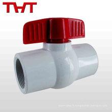 vanne à flotteur à bille en plastique pour réservoir de stockage d'eau