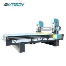 machine de routeur de gravure en métal de double broche cnc