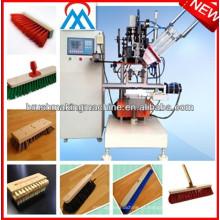 Máquina da vassoura automática do cnc de 2 linhas centrais / vassoura que faz a máquina / máquina da escova