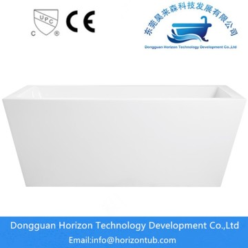 Rectangular acrylic freestanding baths