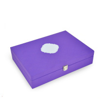 PU Cover MDF Cosmetic Rigid Gift Box