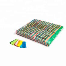 Papel de tejido rectangular de 55 * 17 mm utilizado para el Night Club de concierto y la fiesta loca