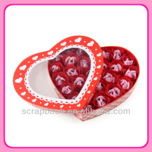 sweet love heart soap flower gifts