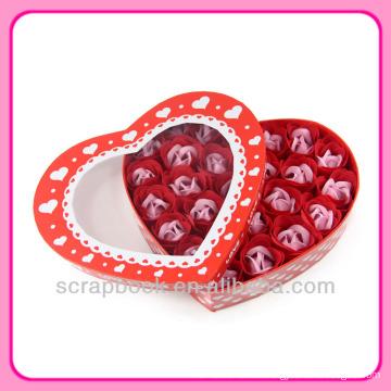 süße Liebe Herz Seife Blumen Geschenke