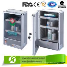 Boîte de premiers soins en alliage d'aluminium fabriquée en Chine