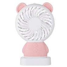 2018 LED Rechargeable Handheld USB Portable Mini Fan