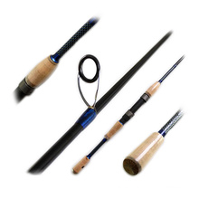 SPR088 carbon spinning fishing rod